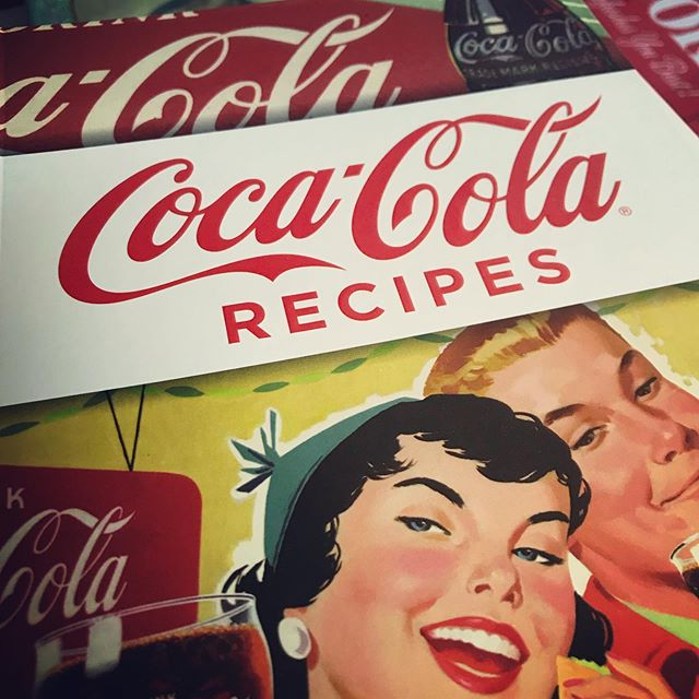 This is an actual recipe book published in 2016, with actual recipes that seem normal...plus coca-cola. Things like mushroom and barley...and coke; soup...with coke; gravy...you get the picture. Check out the auction going on NOW!
