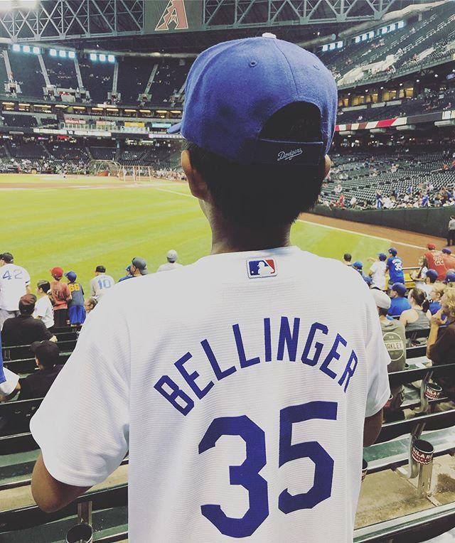 💙@Dodgers! #peanutsnballparks #enjoyingthegame @cody_bellinger