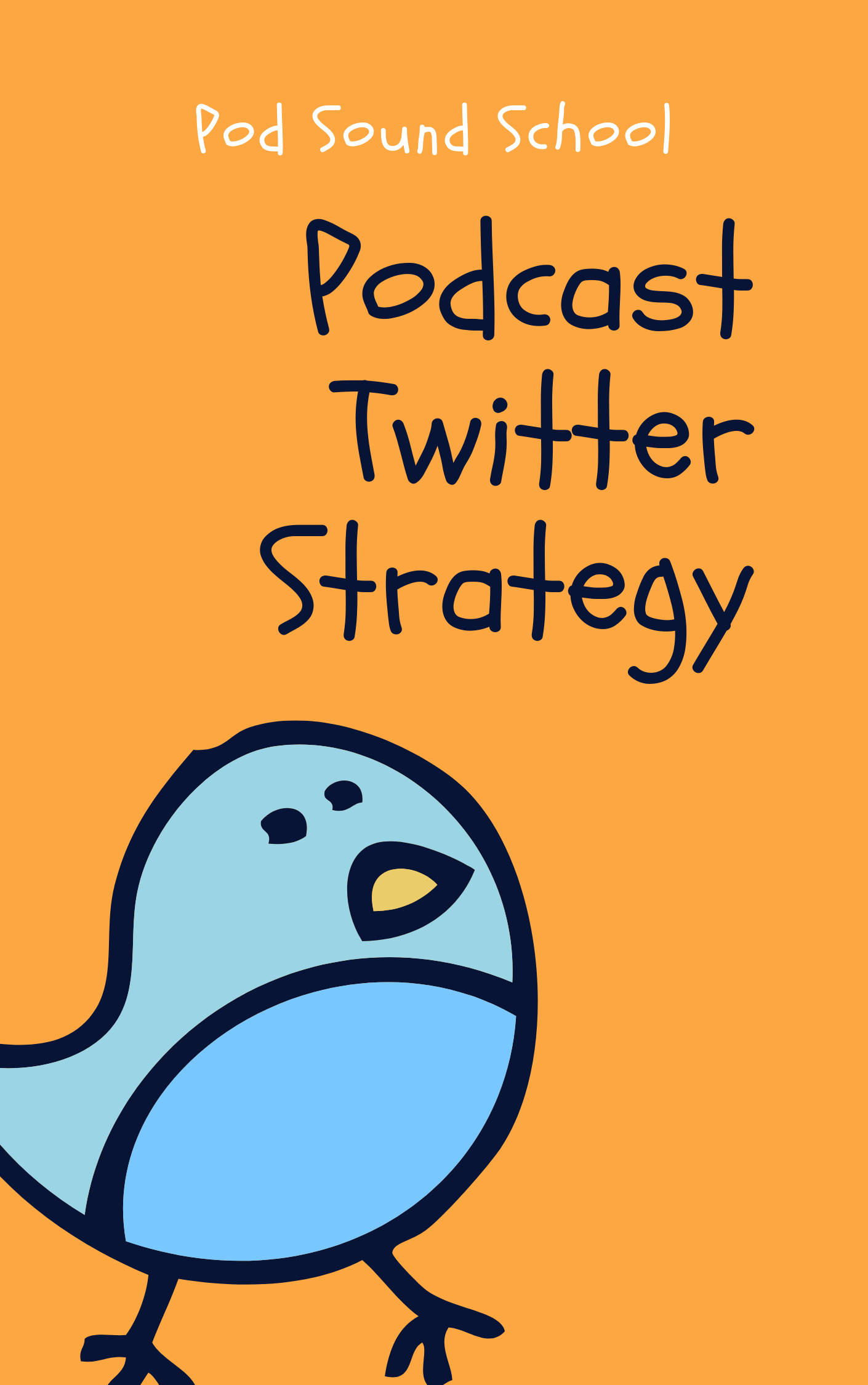 Podcast Twitter Strategy