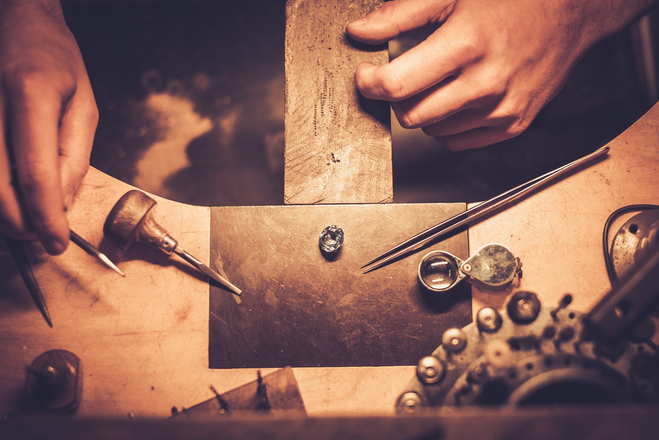 Jewelry Repair - Our bench jewelers have a combined 50 years experience repairing and making jewelry. There is no job too big or too small for them to handle. In fact, our experience and expertise runs so deep that other jewelers even use us for their most delicate jobs.