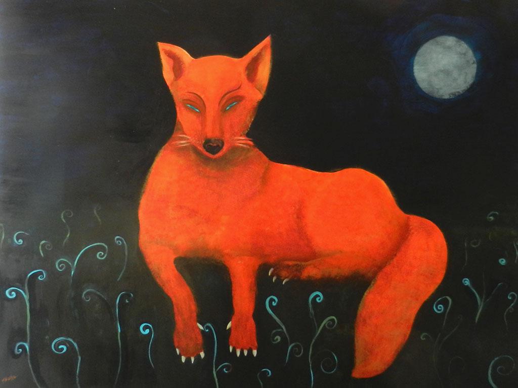 Fox Full Moon