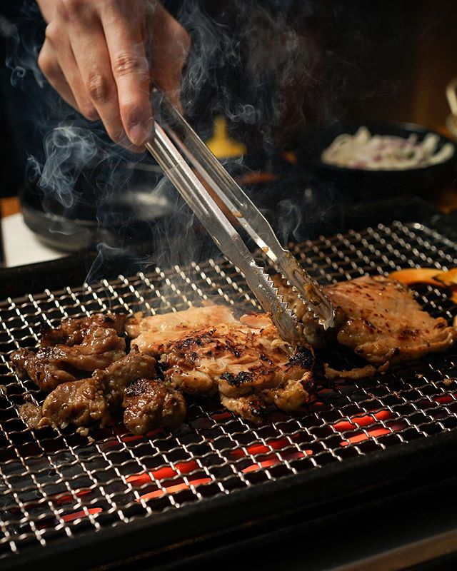 What's your favorite meats at Busan Galmaegi BBQ😆? Our marinated chicken leg meat is definitely a juicy guilty pleasure. Our marinated beef isn't the only delicious thing in the menu, try our marinated pork and chicken as well😎.