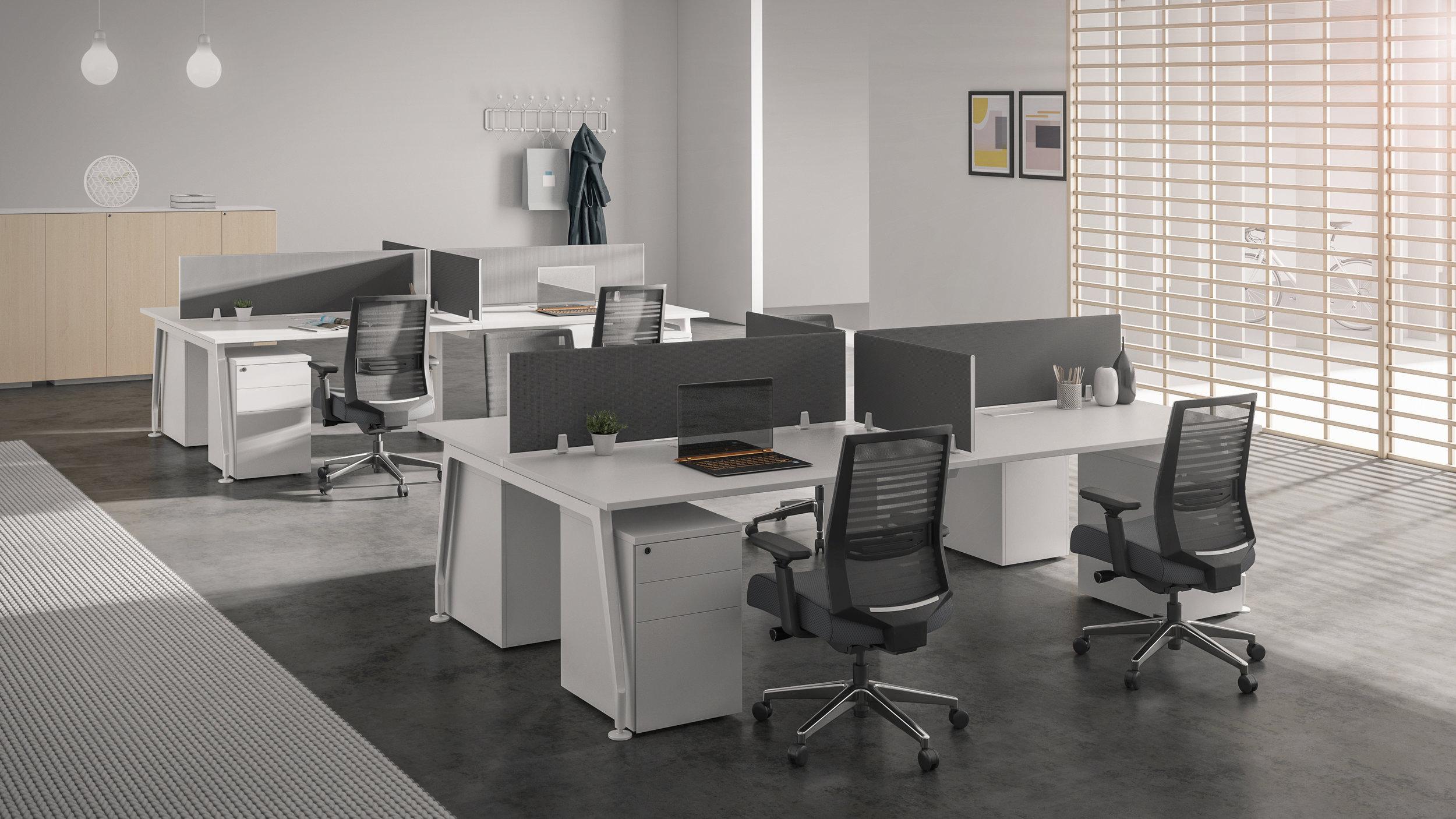 Smarti ST ergonomic task seating