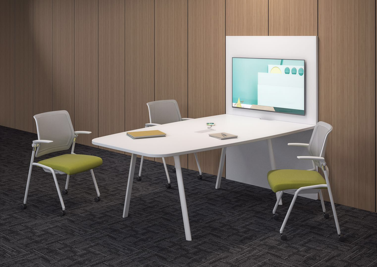 Arti in white frame with media conferencing space.jpg