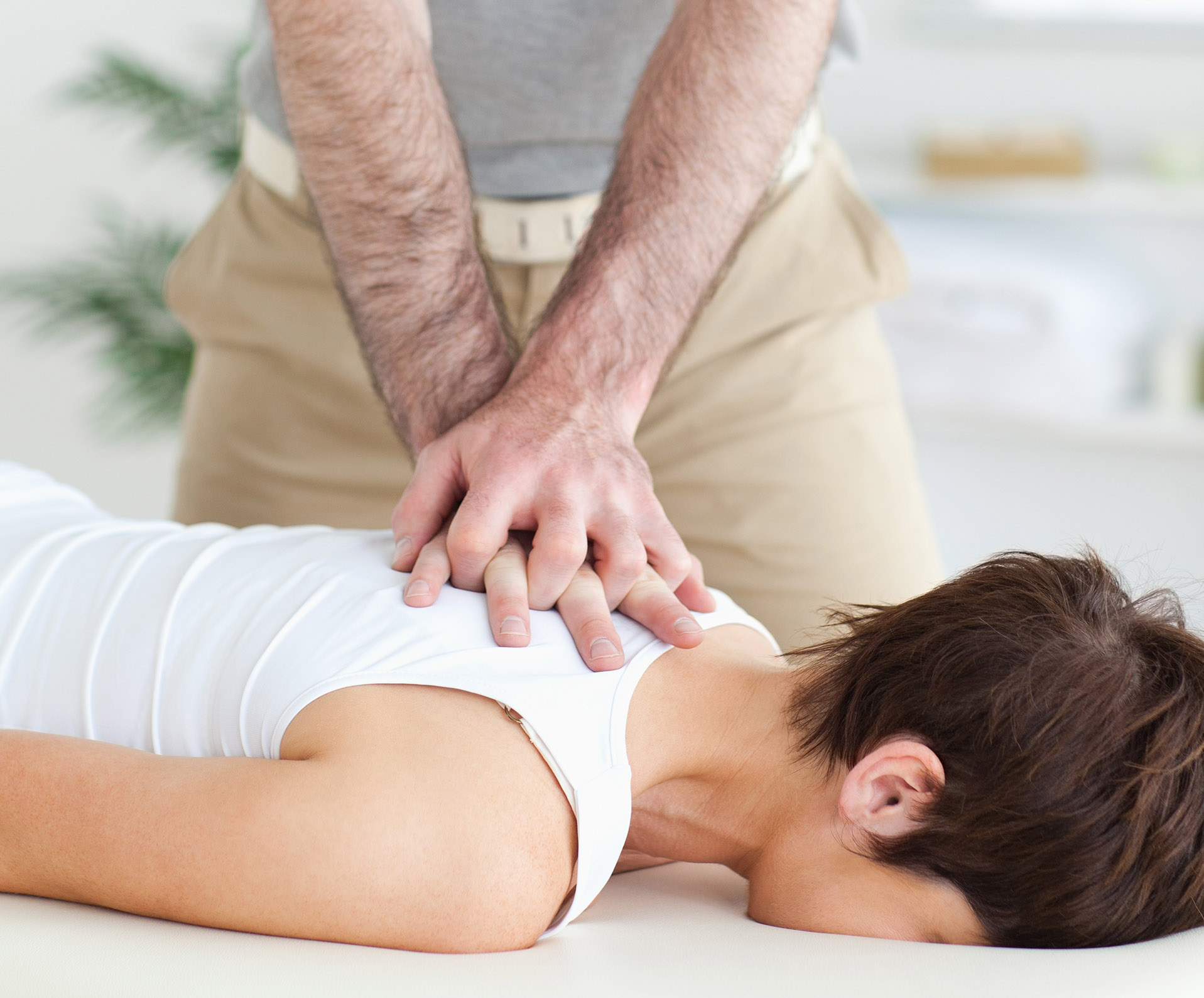 Chiropractors specialise in adjustments that move specific joints in the body to provide pain relief and increase strength