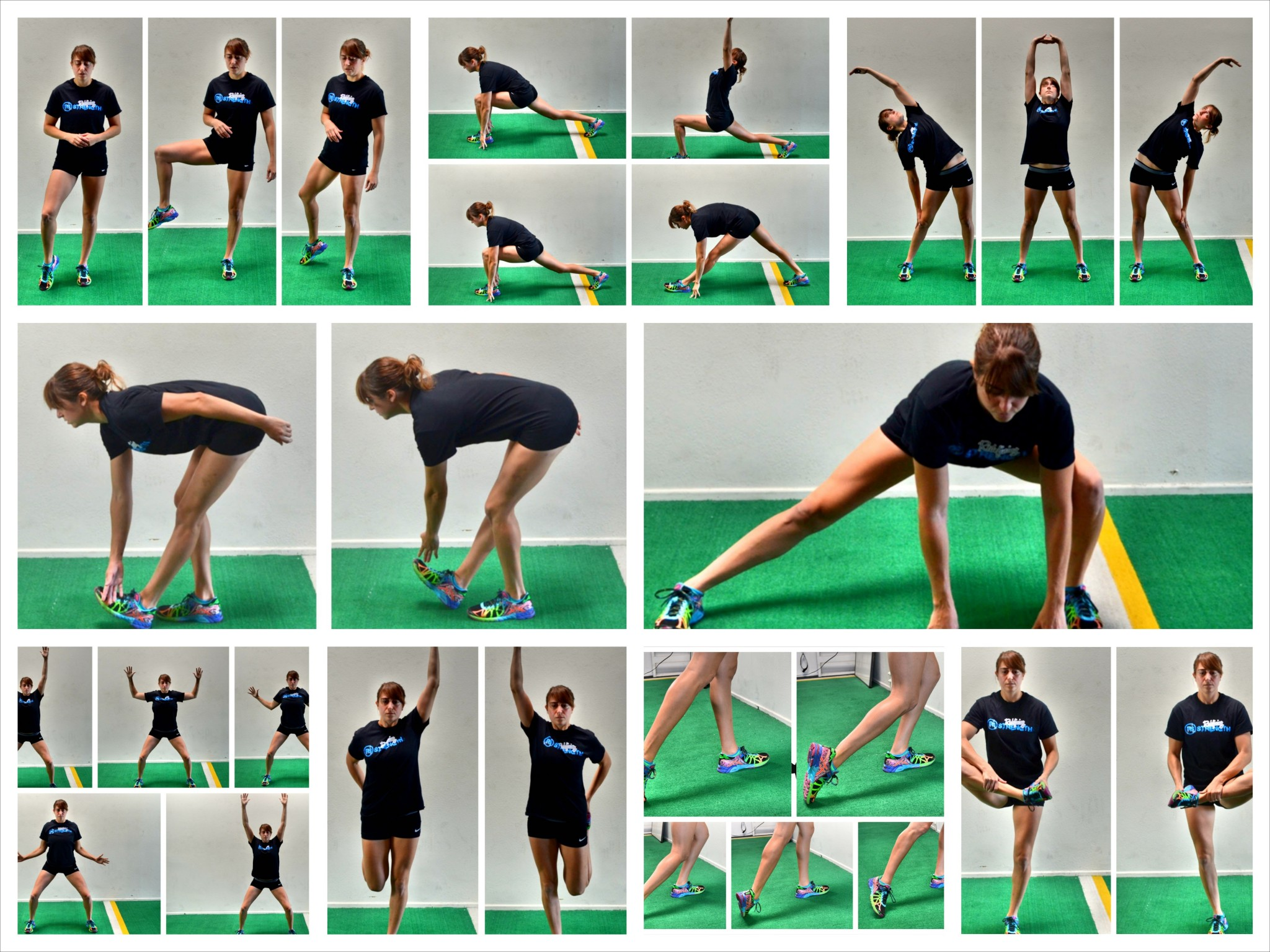 Dynamic stretching for runners