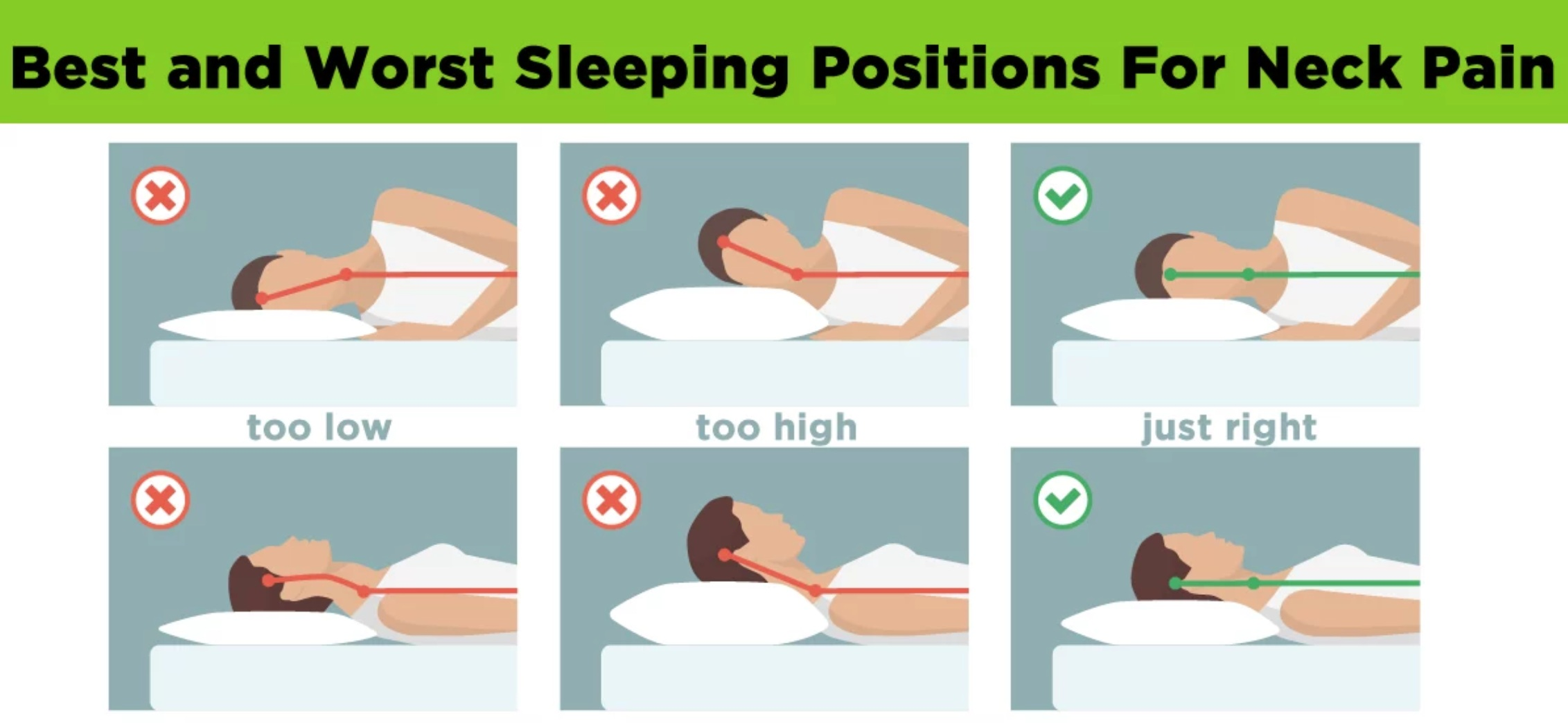 Sleeping+in+a+good+position+with+the+right+pillow+can+help+fix+neck+pain+and+stiffness+from+sleeping