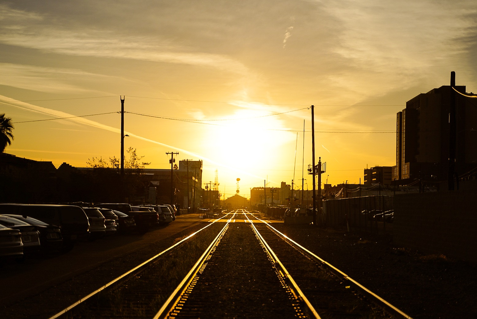 Arizona Train Track