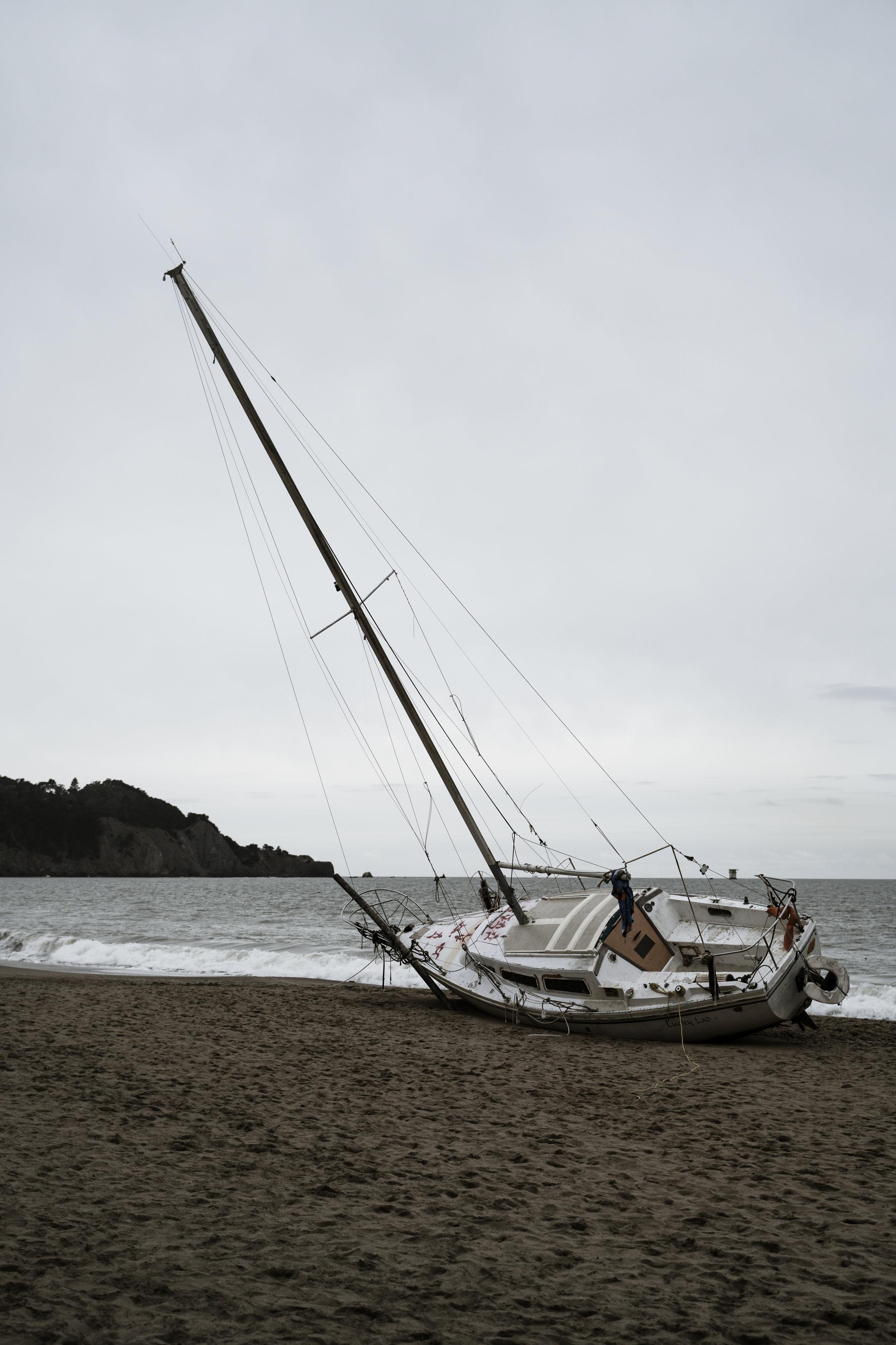 Baker Beach Boat