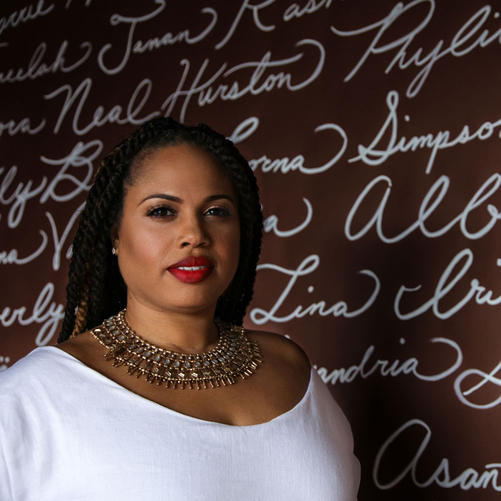 Jessica Stafford Davis, founder of The Agora Culture and Art on the Vine