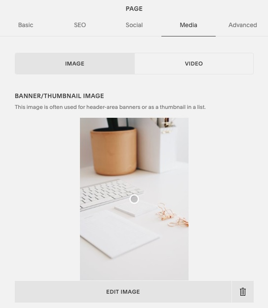 How to adjust image focal points in Squarespace // 5 Squarespace Design Hacks (No Code Needed!) // Five Design Co.