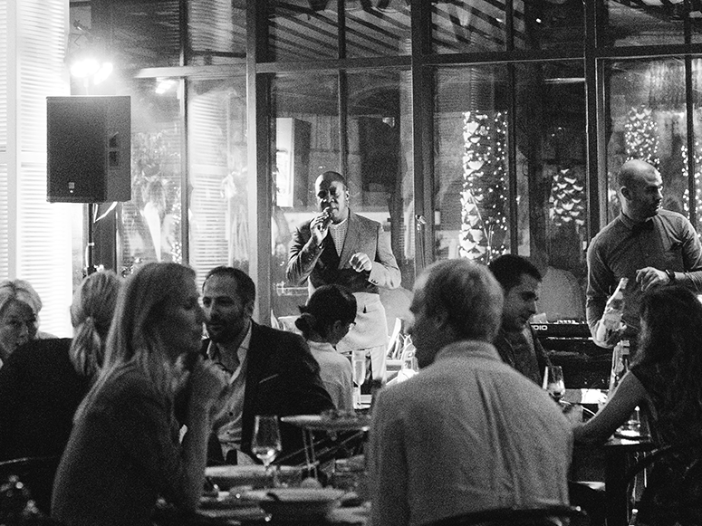 The MAINE Oyster Bar and Grill Dubai JBR Soul Stories Jazz Night Music