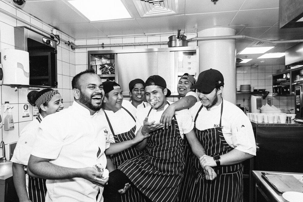 The Maine Dubai's Team   Best Restaurant In UAE
