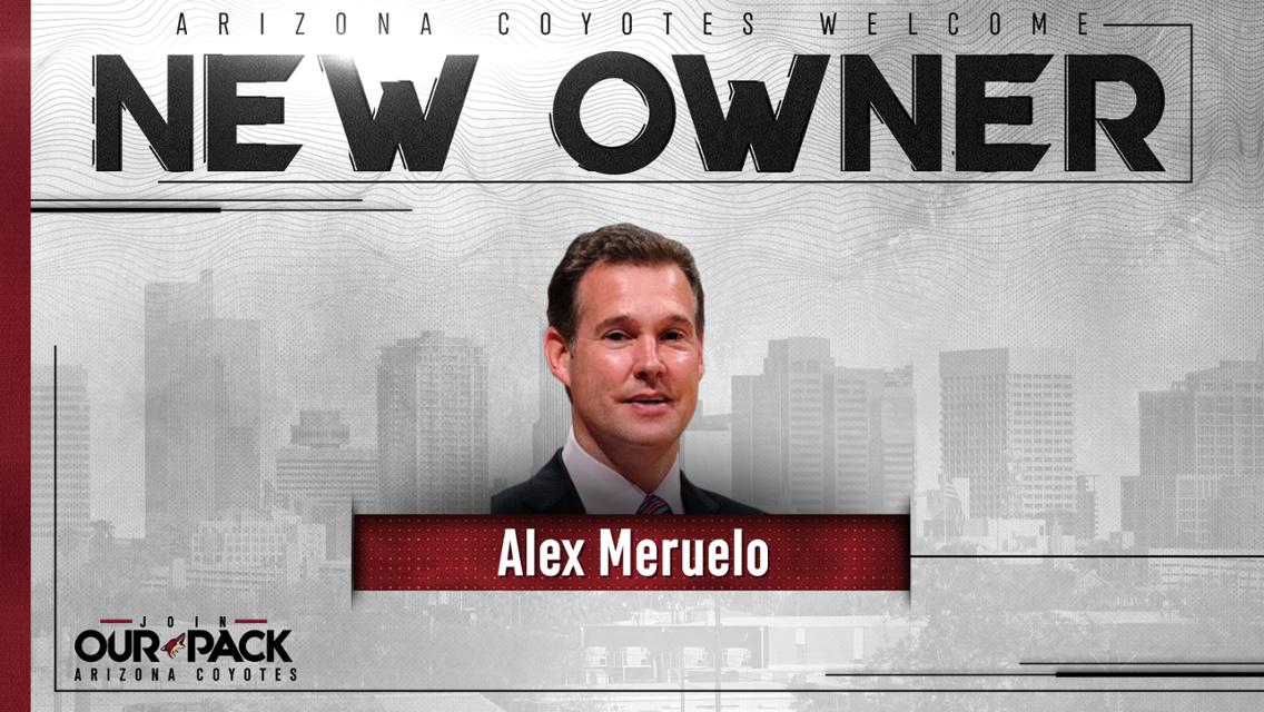 Historic purchase makes Meruelo the first and only Hispanic majority owner in the National Hockey League