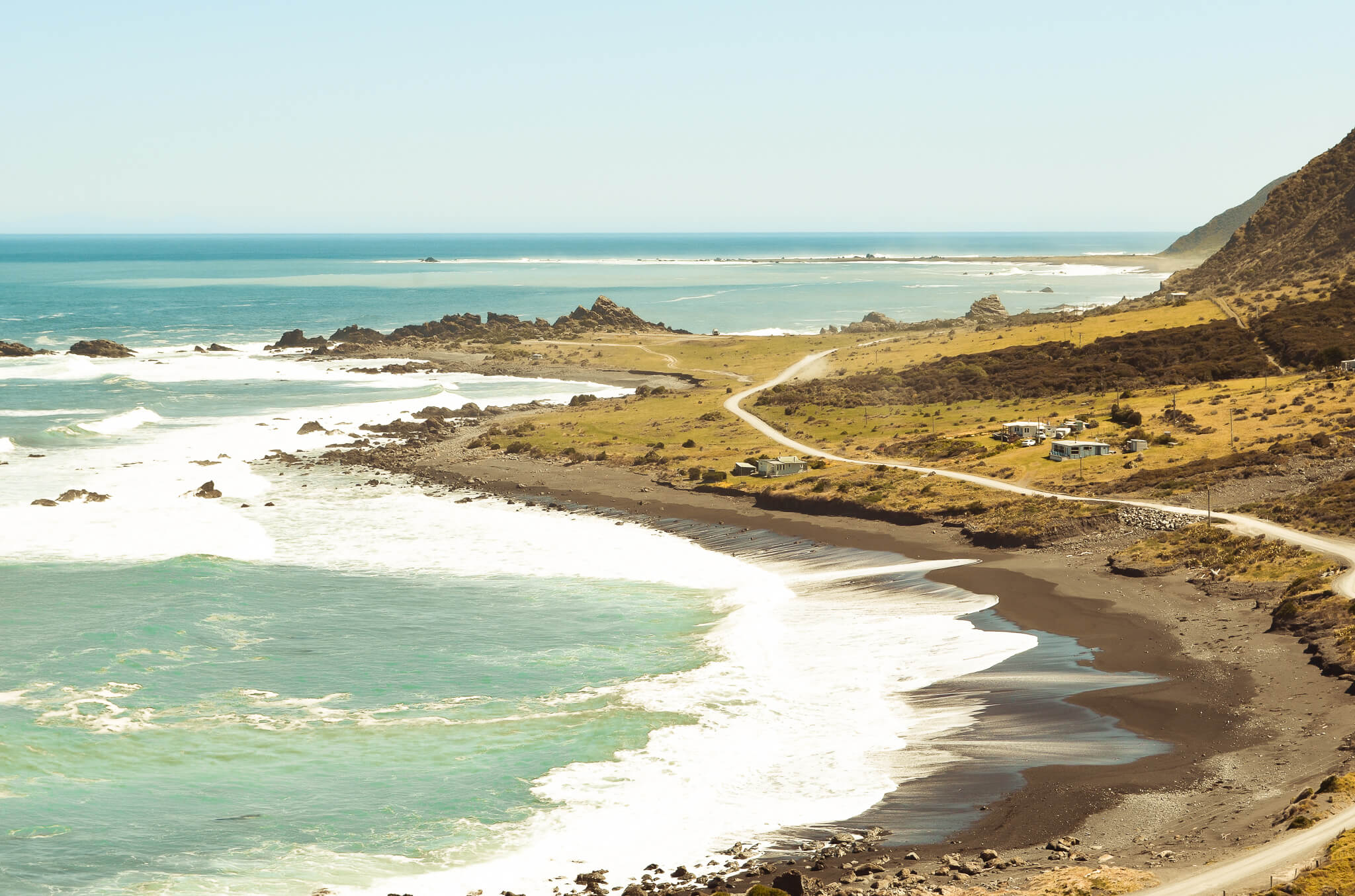 Cape Kidnappers - Nordinsel, Hawke Bay