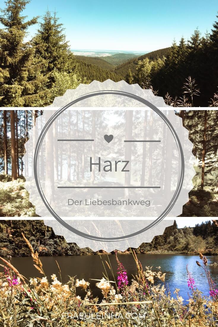 Pin mich! Wellness & Wandern im Harz: der Liebesbankweg