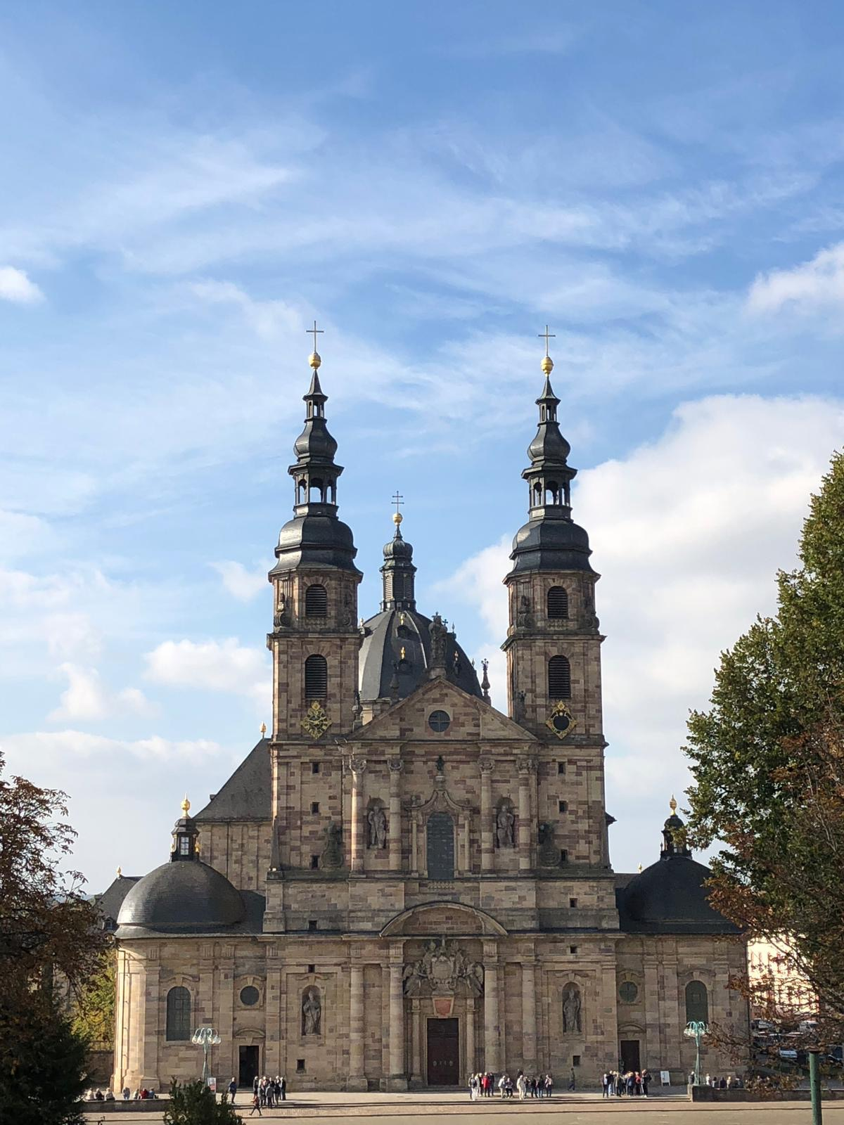 Goldener Herbst in Fulda - Dom