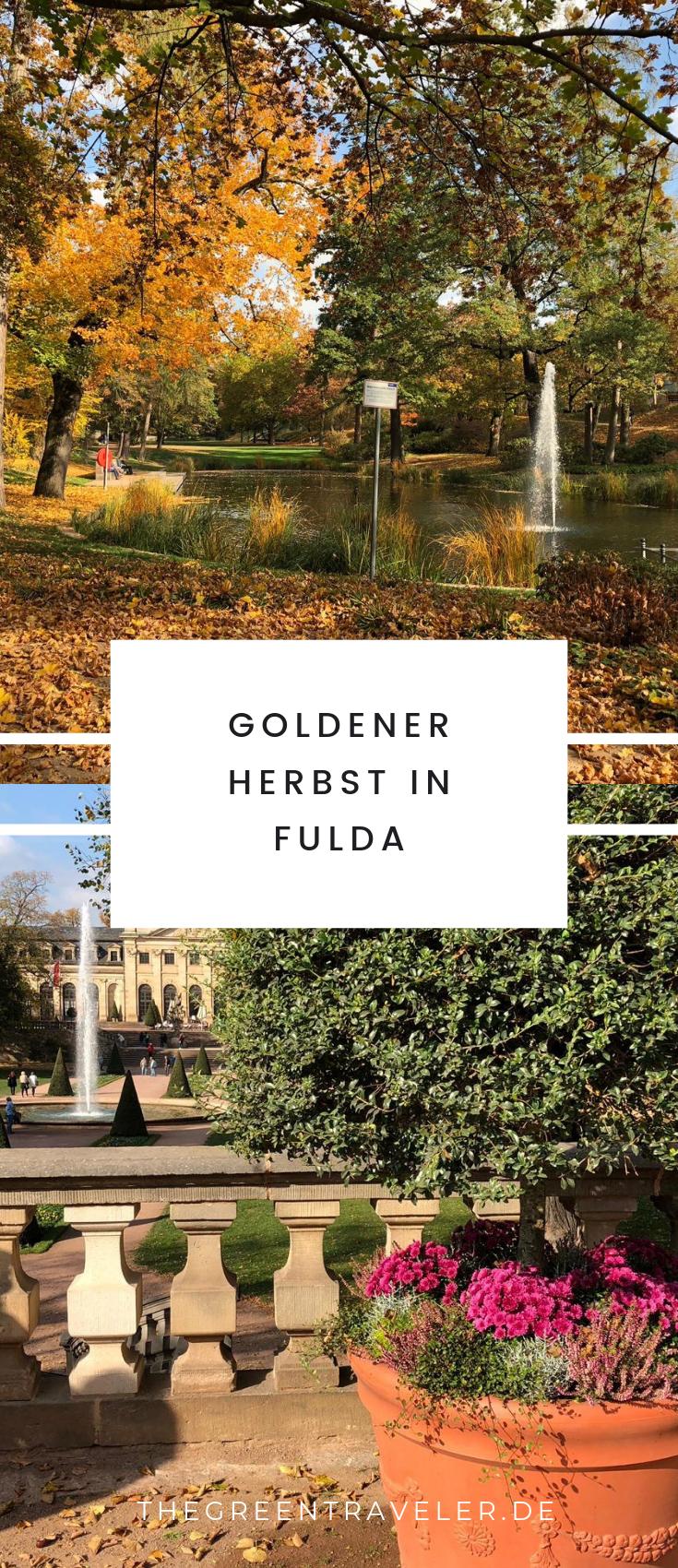 Goldener Herbst in Fulda - Pinne den Post für später auf Pinterest