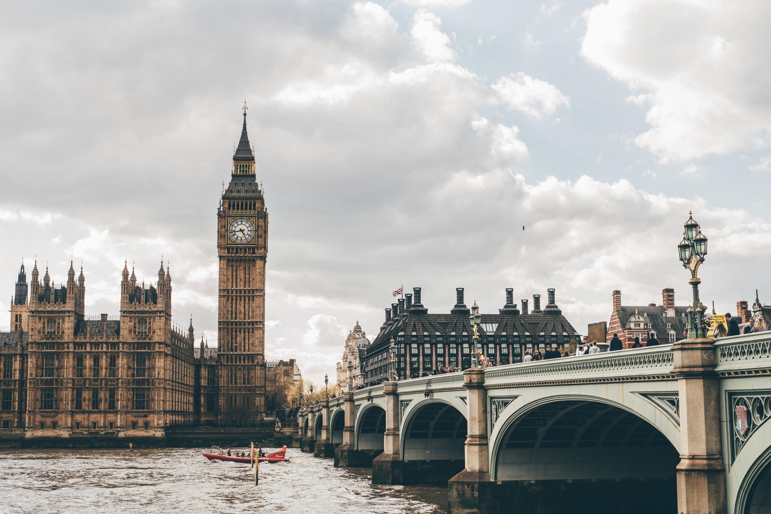 6 Spaziergänge durch London