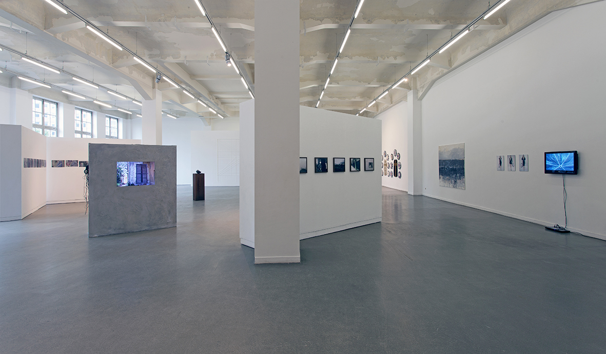 Exhibition view of  Macht , a group exhibition at Kunsthaus Hamburg. Photo credit Hayo Heye.