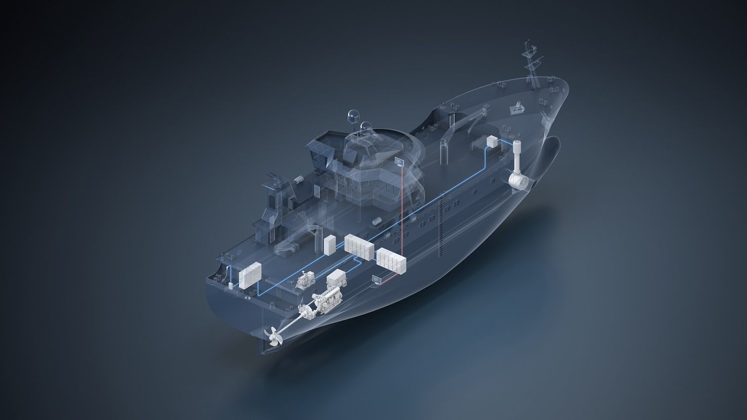 Høglund Power Solutions - Hybrid Propulsion System on the new longliner fishing vessel MS Geir