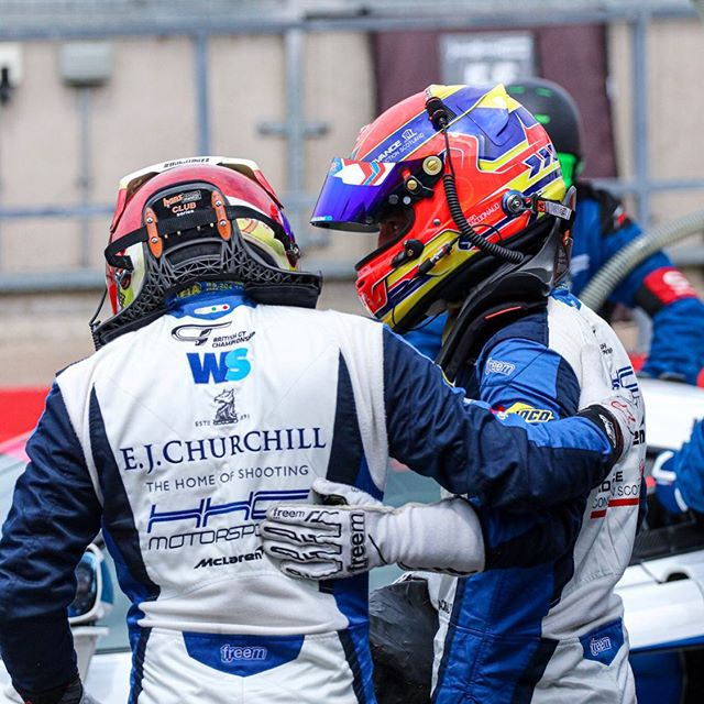 Wasn't to be this time @circuit_spafrancorchamps for @british_gt after having a very strong car but had to retire from the race but happy to come away with the fastest lap 💨 , as always a massive thank you to @hhcmotorsport for all their hard work 💪  #advanceconstruction #baylisandharding #HHC #57 #McLaren #gt4 #570s #freem #britishgt #scotland #🔵⚪️