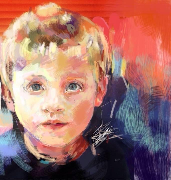 William, iPad art