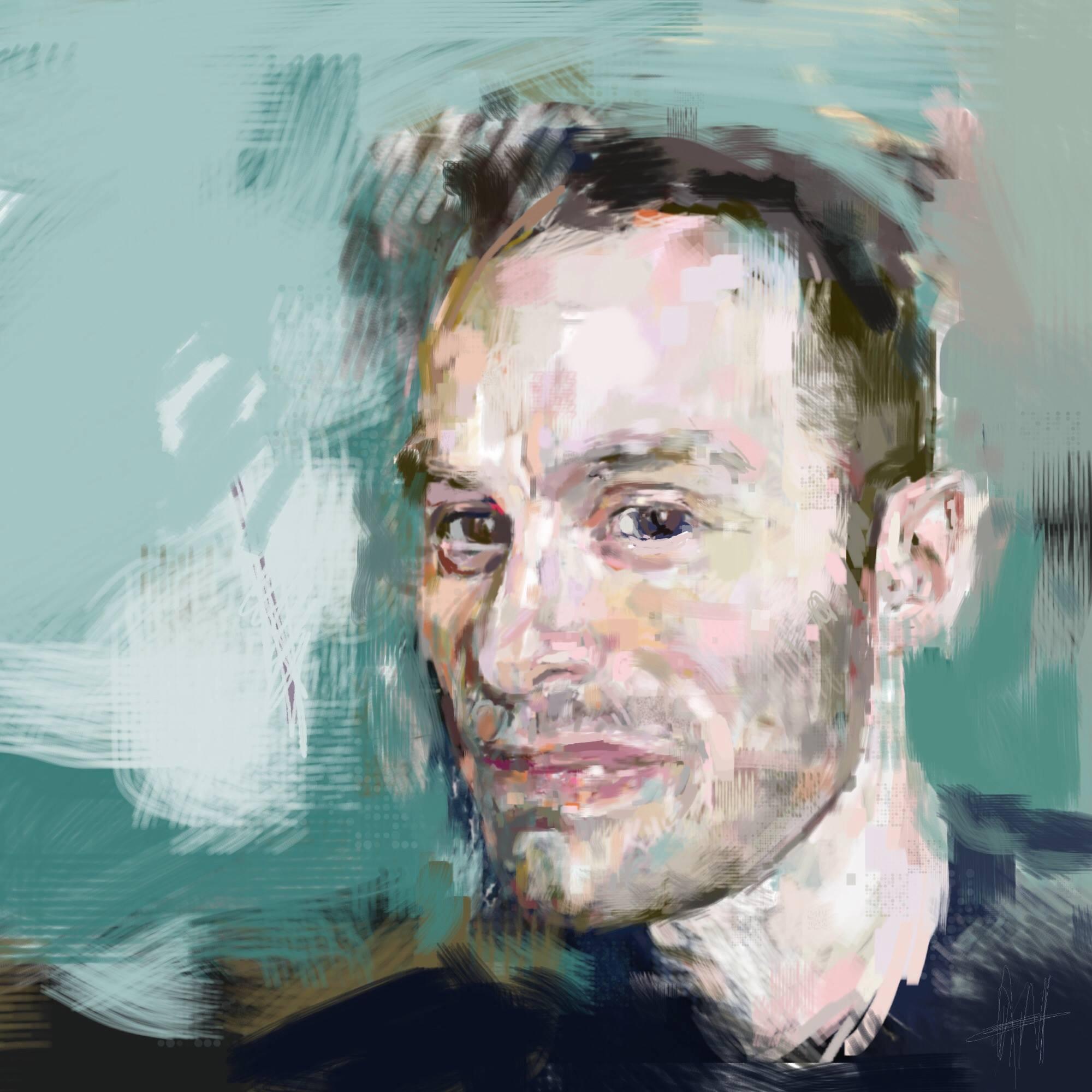 Stuart, iPad art