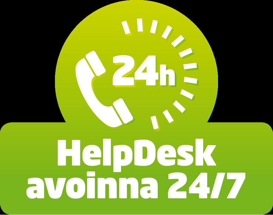 ASIAKASTUKI 24H - Asennukseen ja huoltoon liittyvissä asioissa palvelemme asiakkaitamme 24h vuorokaudessa ja kaikkina viikonpäivinä, 365 päivää vuodessa. Puhelinpalvelun numero on 029 123 3220.