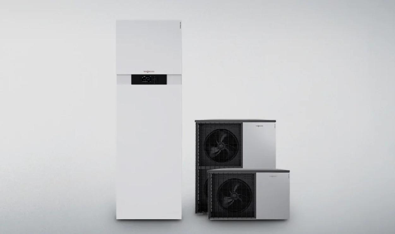 Viessmann VITOCAL 222-S - Kompakti ilma-vesilämpöpumppu Vitocal 222-S on edullinen energiakeskus omakotitalojen uudisrakentamiseen.