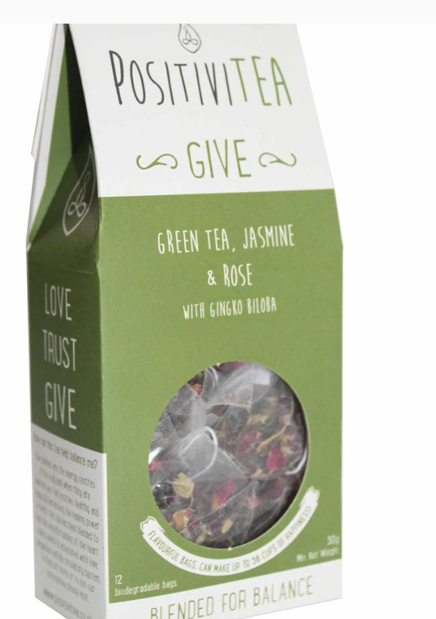 GREEN TEA, JASMINE & ROSE WITH GINGKO BILOBA £4.99