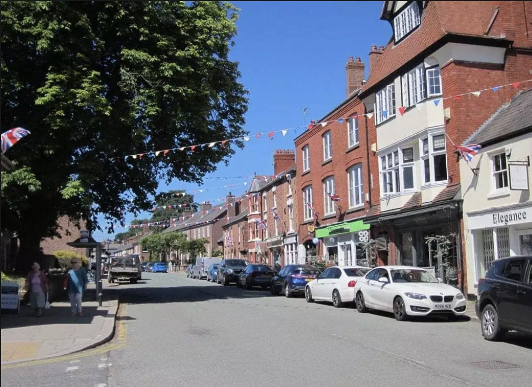 My local high street - Tarporley