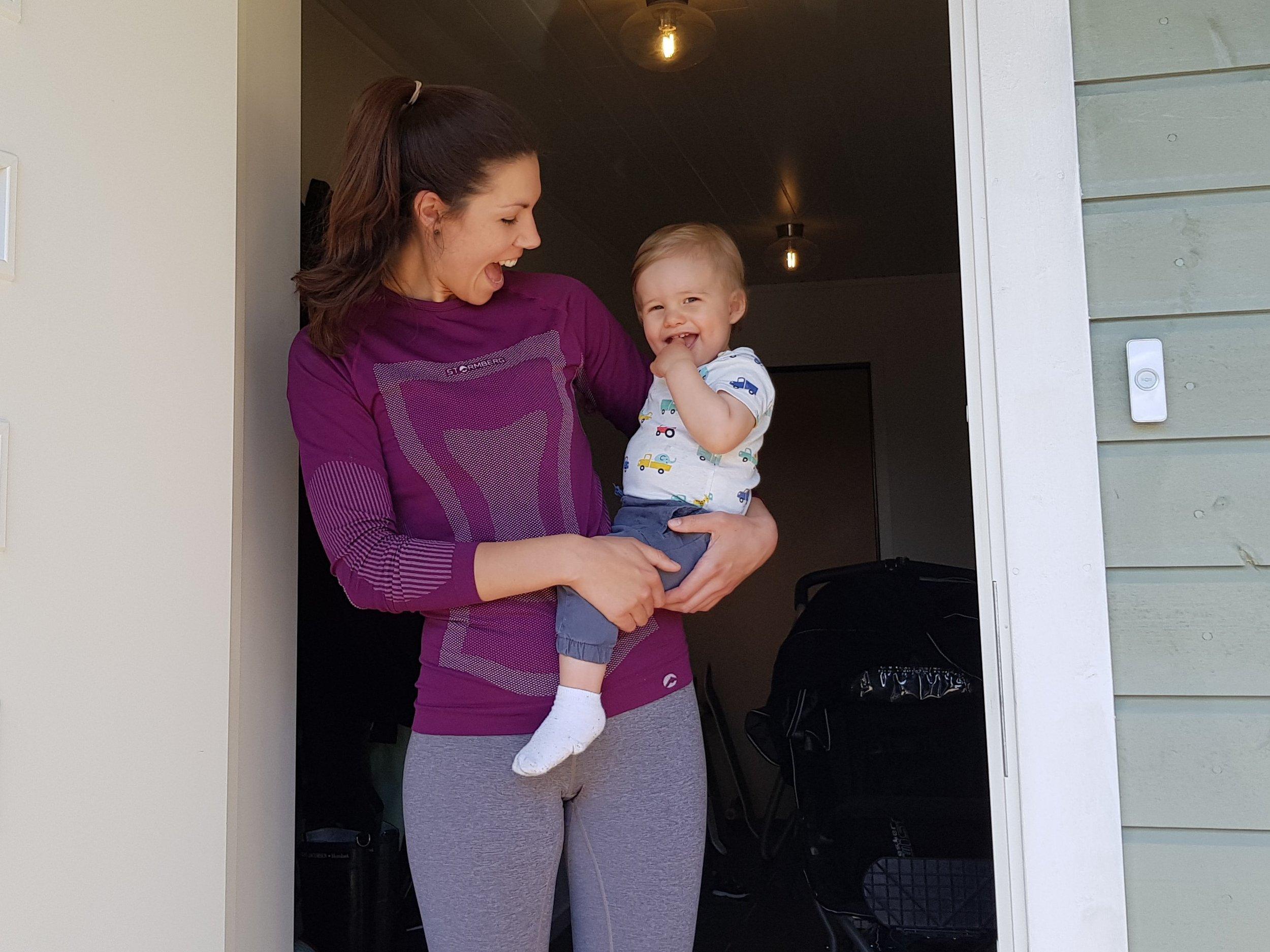 Eline og sønnen Linus