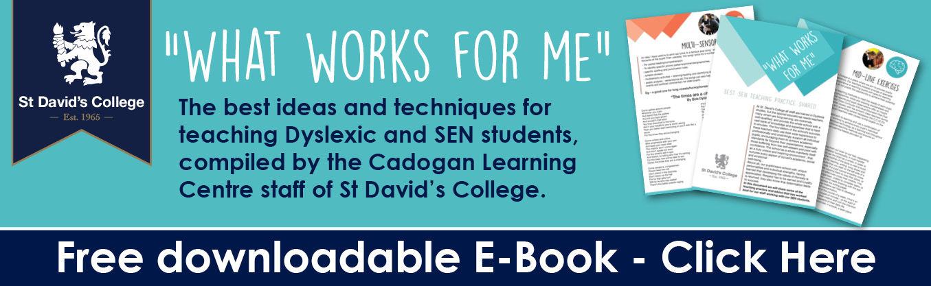 Download this essential resource from St David's College.