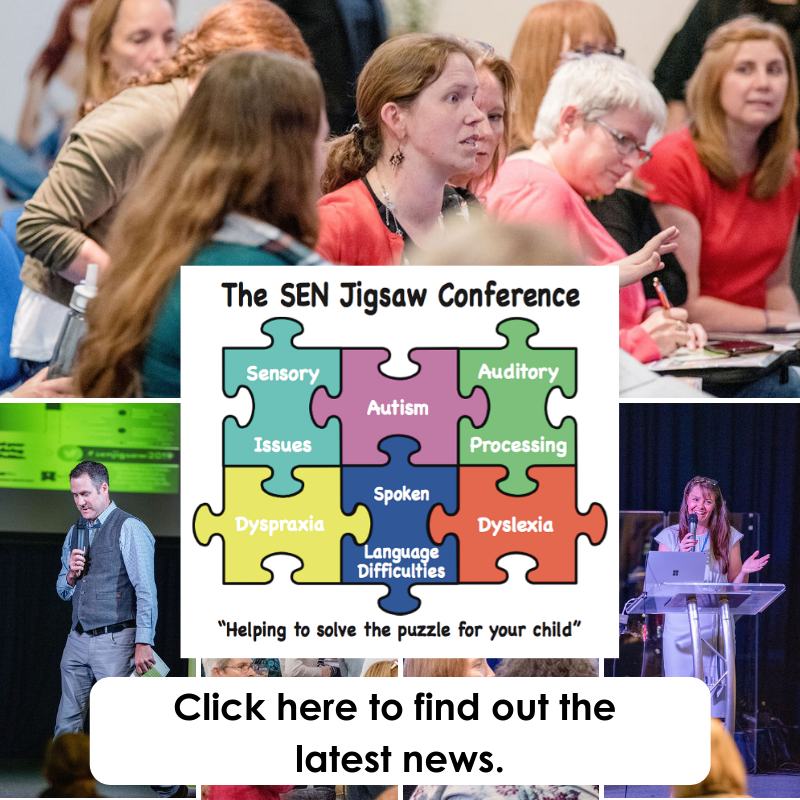 Don't miss our announcement for the SEN Jigsaw Conference 2020.