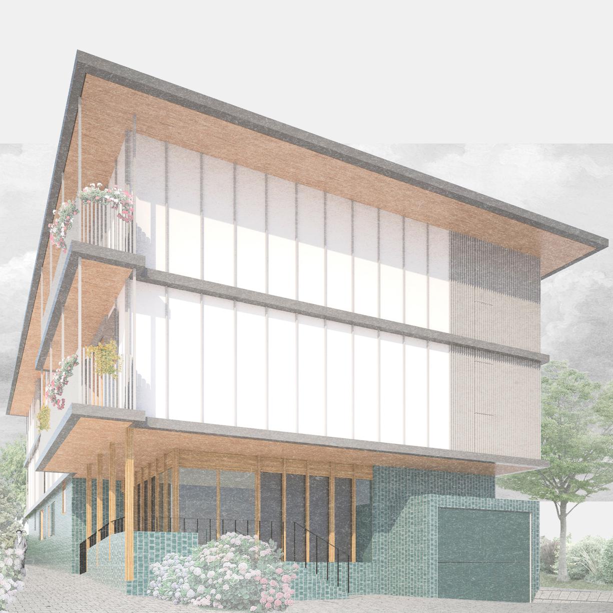 Housing |  Social Housing | Bera, Navarra   1st prize