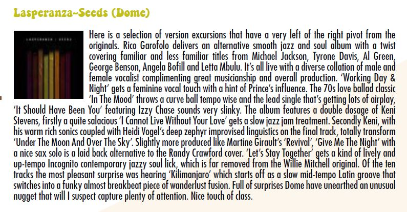 Review by Fitzroy Anthoney Facey, The Soul Survivor Magazine, April 1st - May 31st edition.