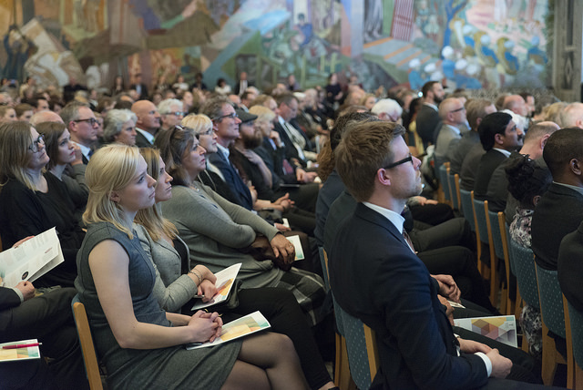 2017 Award Ceremony during Gro Harlem Brundtland's keynote