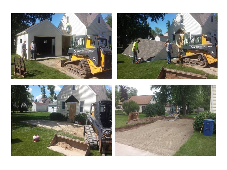 Concrete Pad and Garage Demo