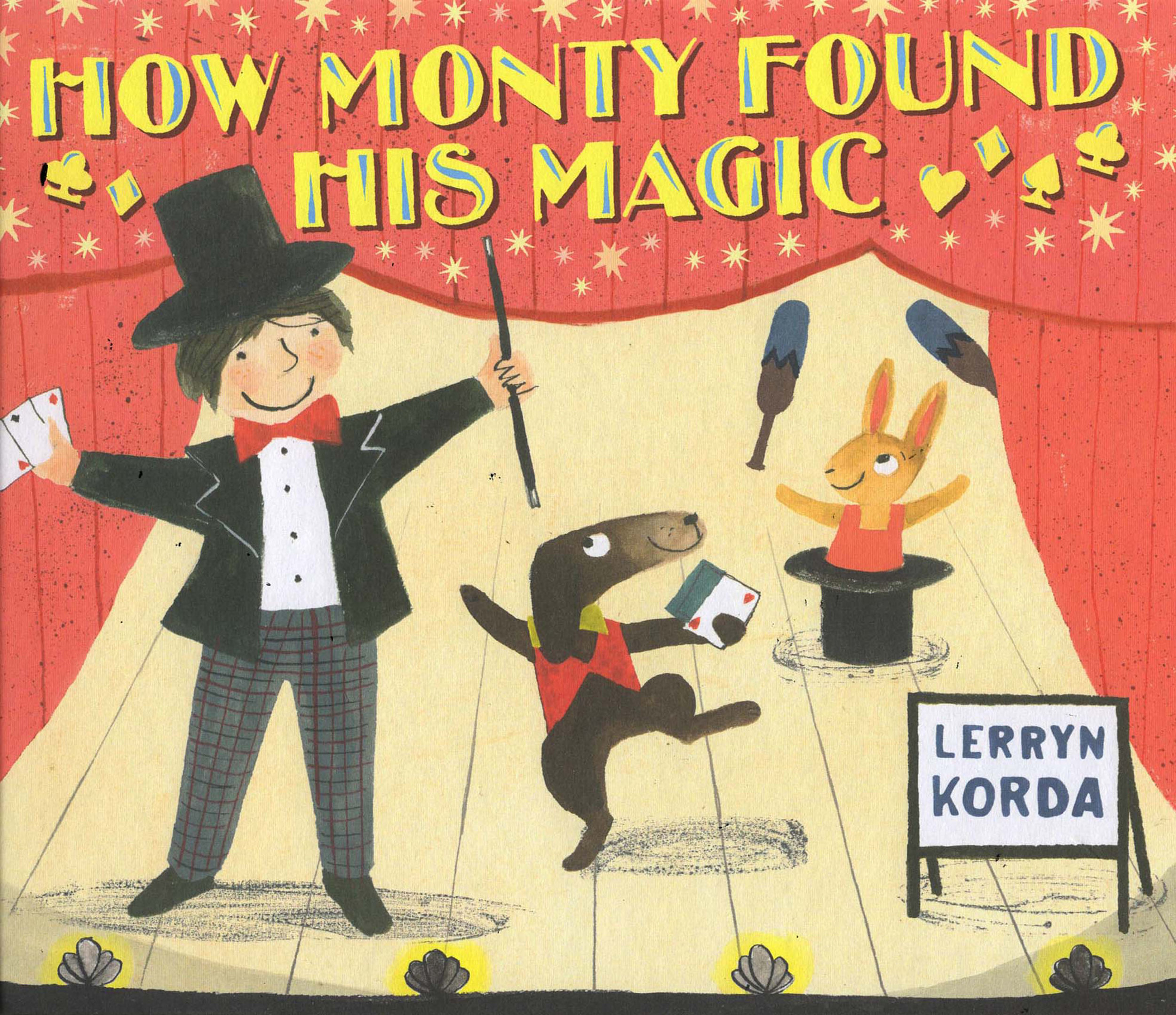 How Monty Found his Magic  Walker books