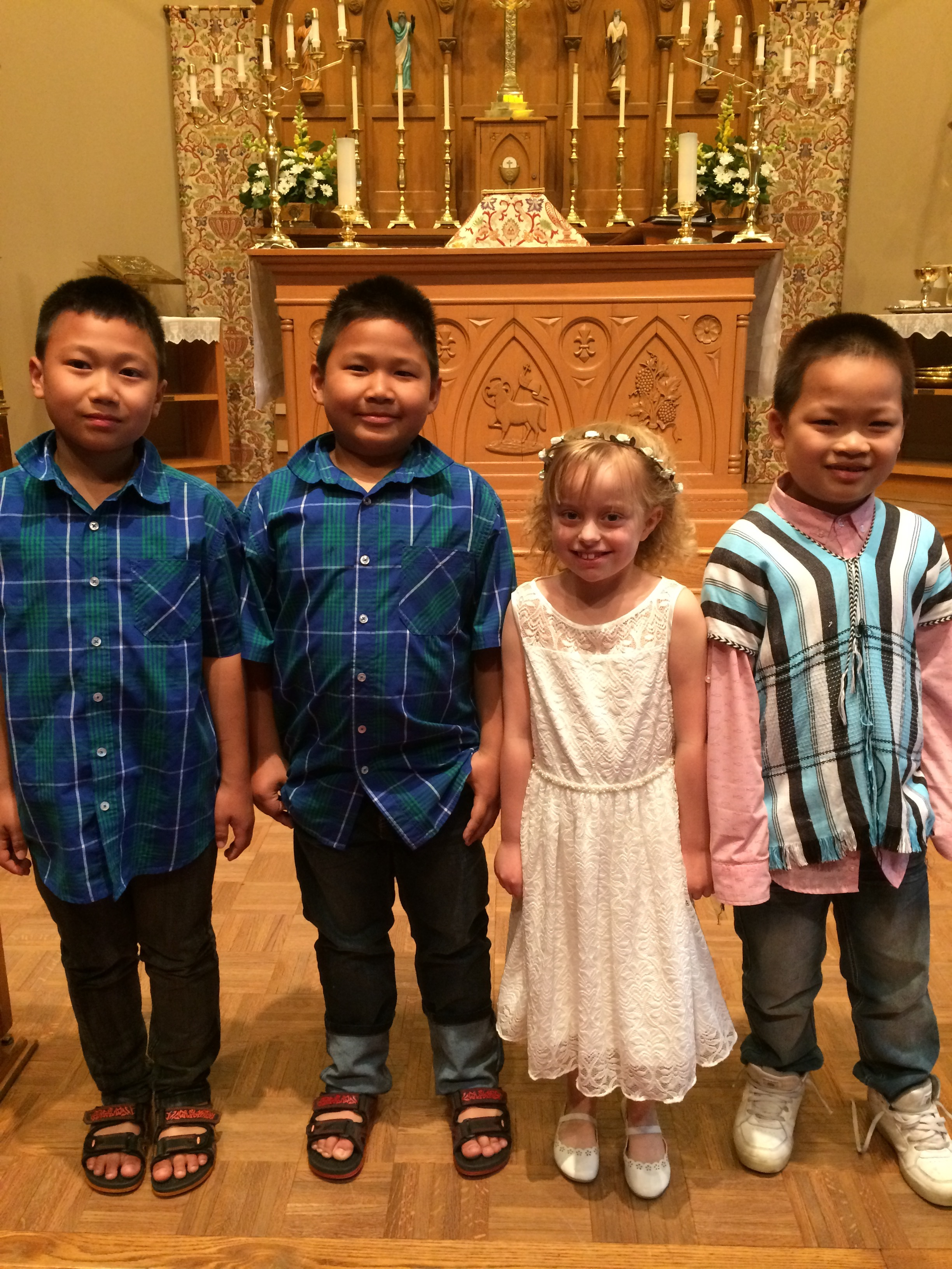 Sunday School - First Communion.JPG