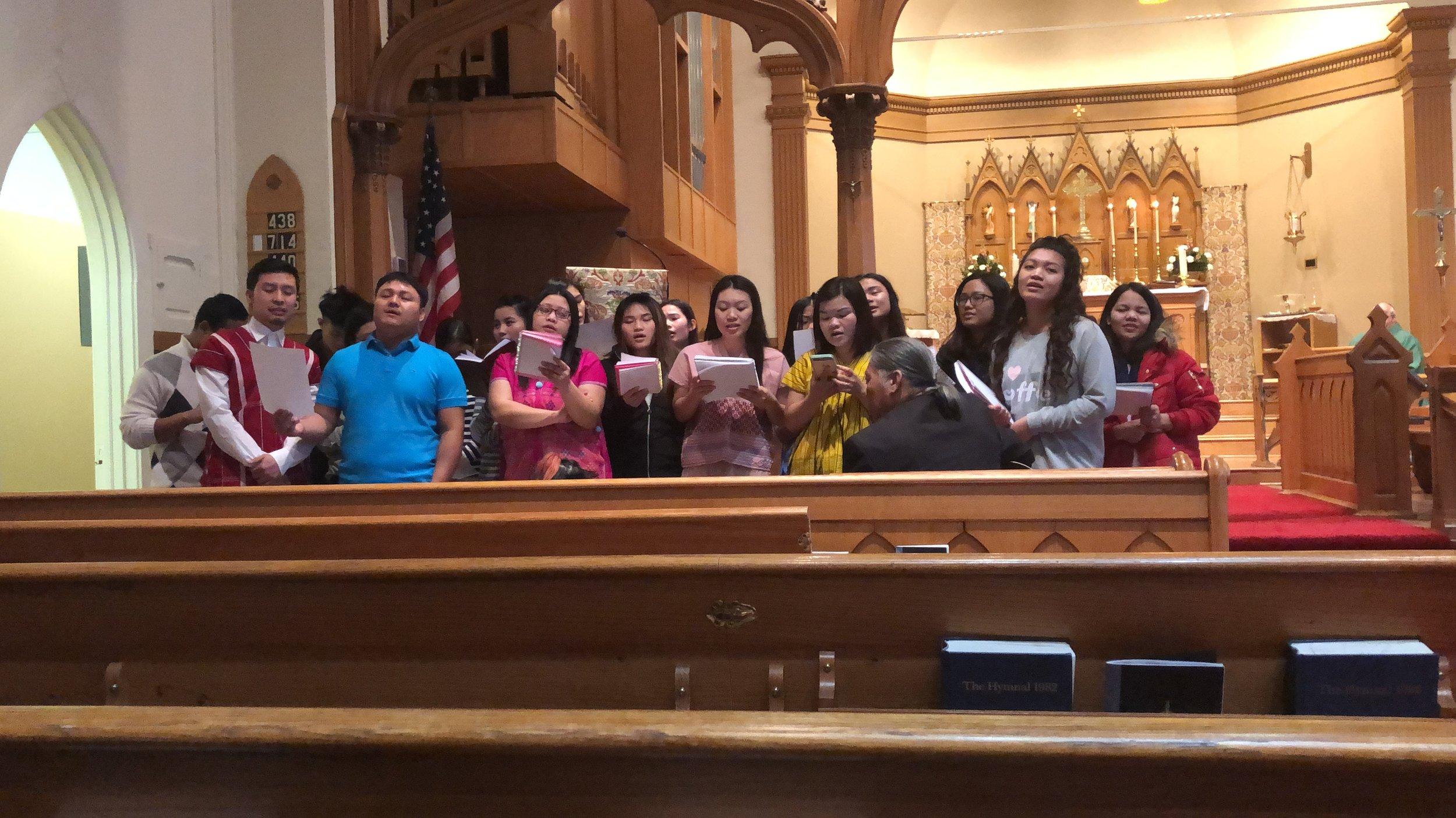 Karen Ministry - Karen Choir.JPG