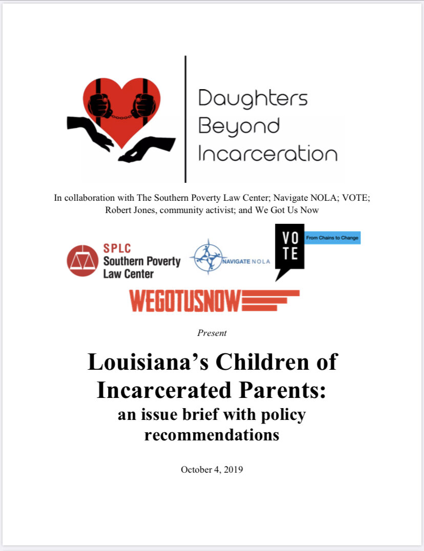Policy Implementation - Click the image to see how we're impacting change for all Children of Incarcerated Parents