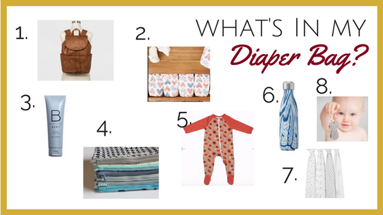 Diaper bag essentials from a doula and Mother of 3!