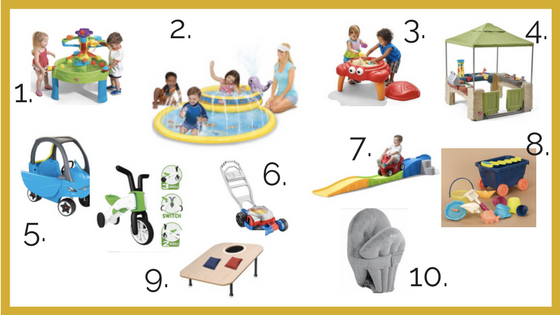 Top 10 Outdoor Toys for Babies and Toddlers