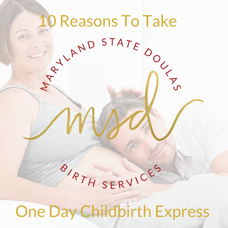 Maryland State Doulas offers 1 day childbirth education classes at george washington university hospital in dc and throughout the state of maryland