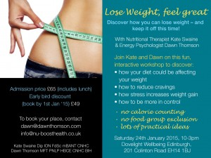 lose weight feel great flyer