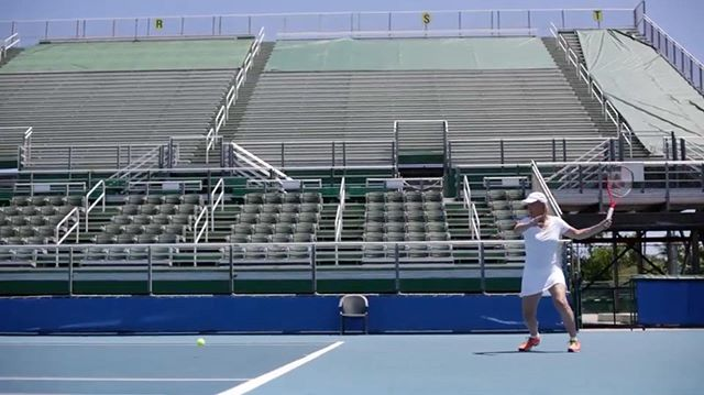 Wishing we were in the stands watching the US Open 🎾  From a spot directed by @harry_sanna 🔥 . . . #still #filmstill #film #director #artofvisuals #tennis #usopen #stadium #racquet