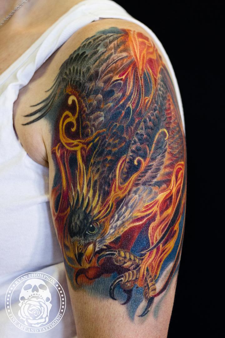 Judy's Raptor Phoenix Cover-up
