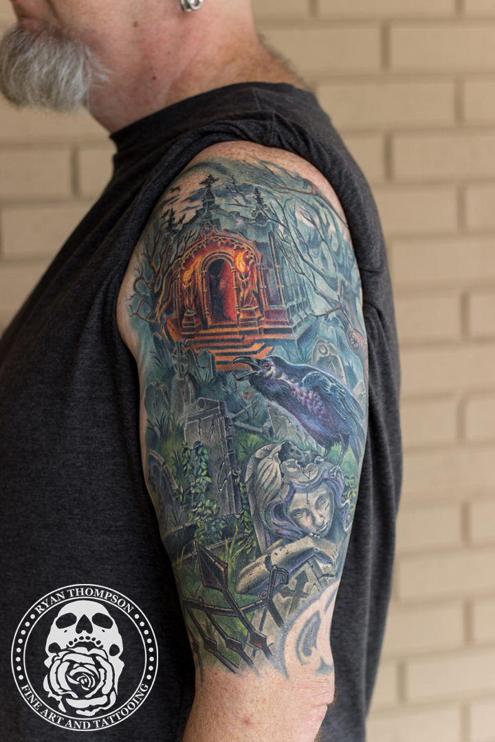 Dave's Graveyard Tattoo